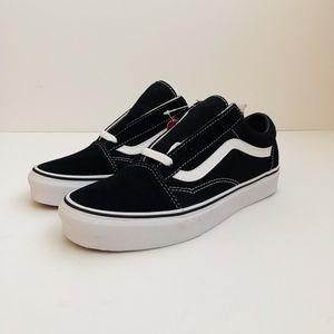 bed479ceb6 Vans Old Skool Black White Canvas Skate Shoes
